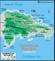 Dominikanische Republik Karten