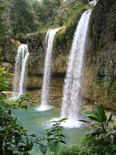 Wasserfälle bei Bayaguana