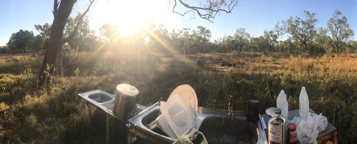 So geht Kochen im Outback