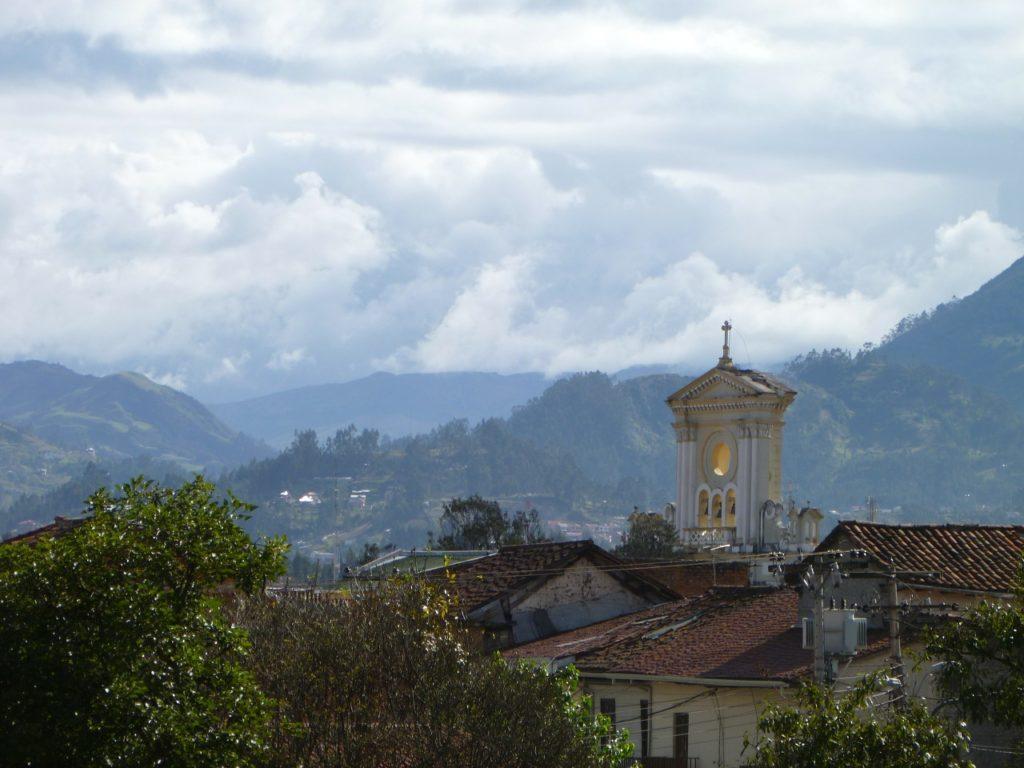 Blick auf Cuenca