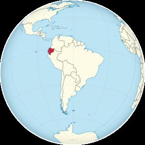 Lage von Ecuador