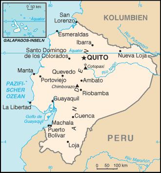 Ecuador Städte