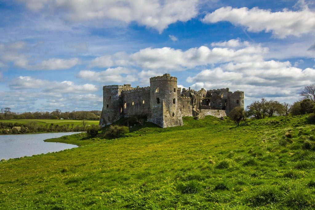 England - Wales - Carew Castle