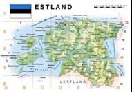 Estland Karten