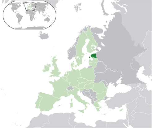 Estland Lage