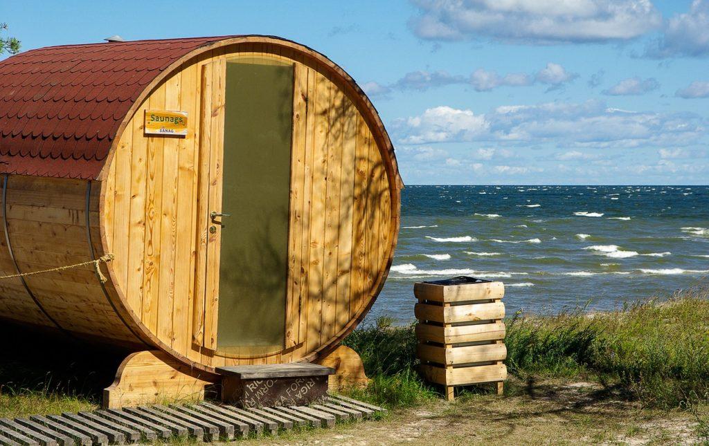 Estland - Ostsee - Sauna