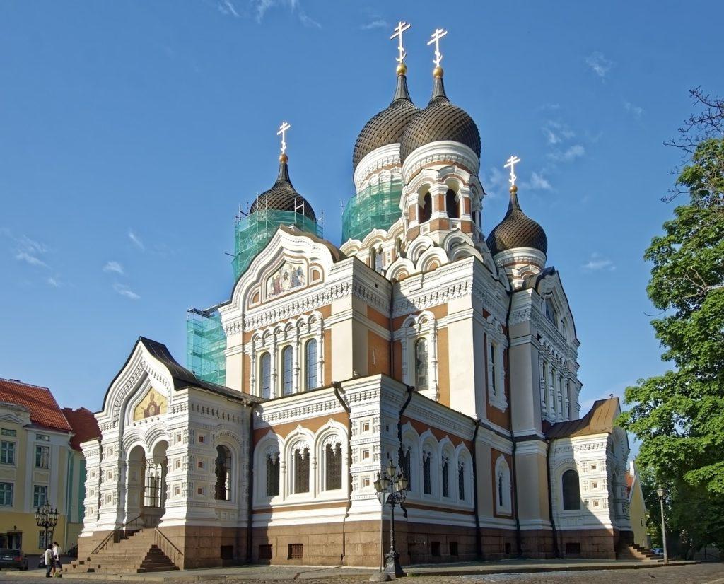 Estland - Tallinn -Alexander Newski Kathedrale
