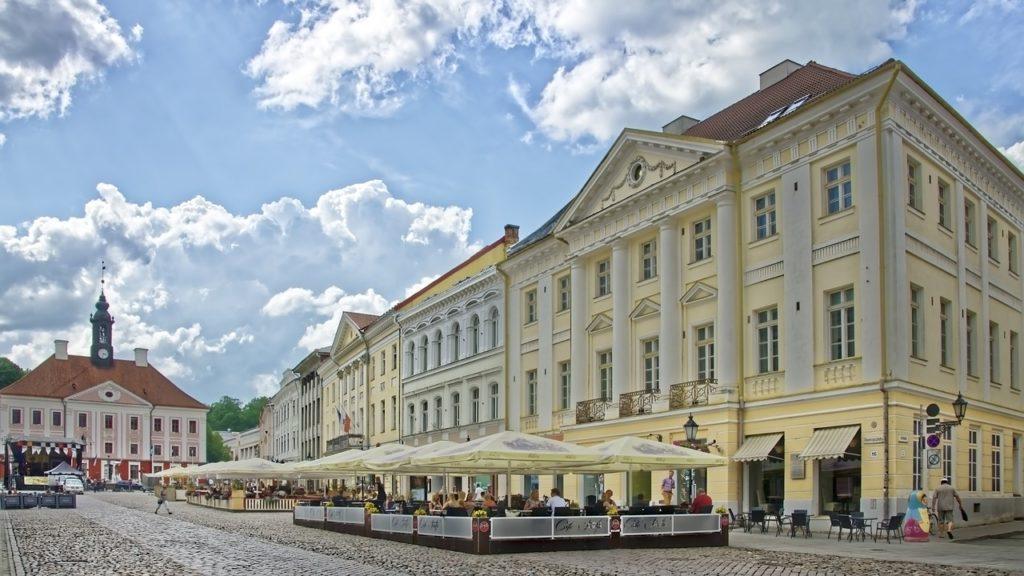 Estland - Tartu - Rathausplatz
