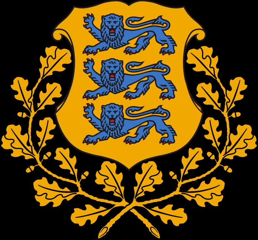 Estland-Wappen