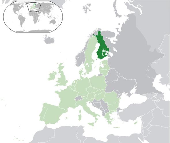 Finnland Lage