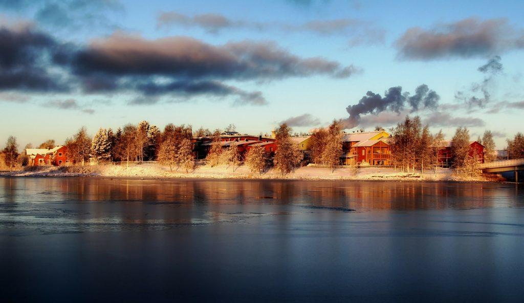 Finnland - Pikisaari Insel