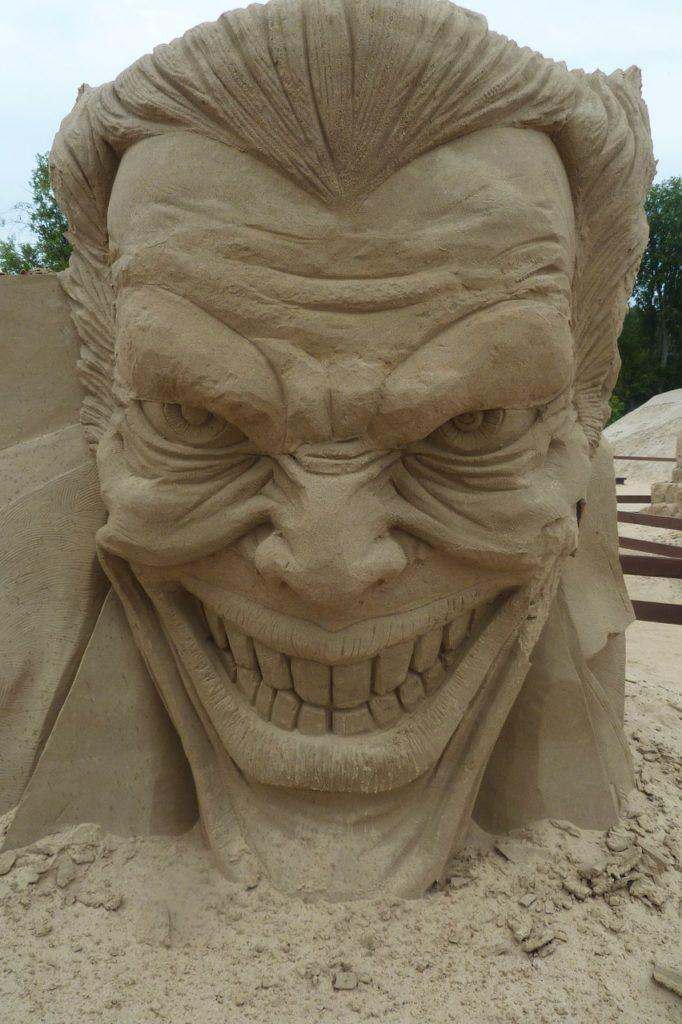 Finnland - Sandkunst
