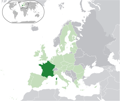 Frankreich Lage