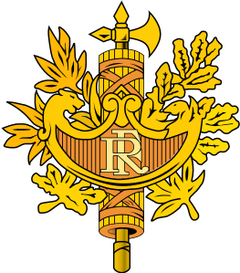 Frankreich-Wappen