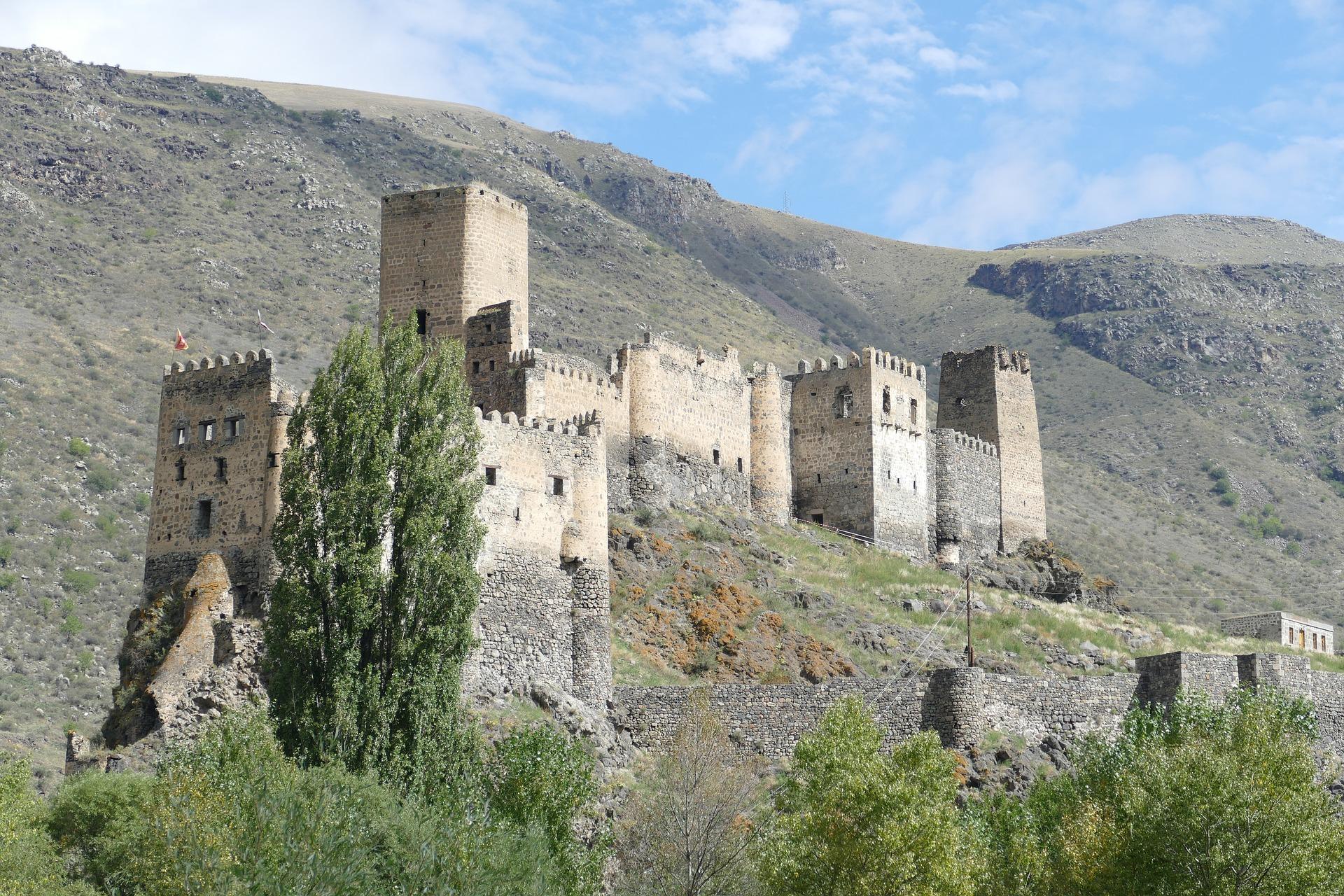 Georgien Khertvisi Festung