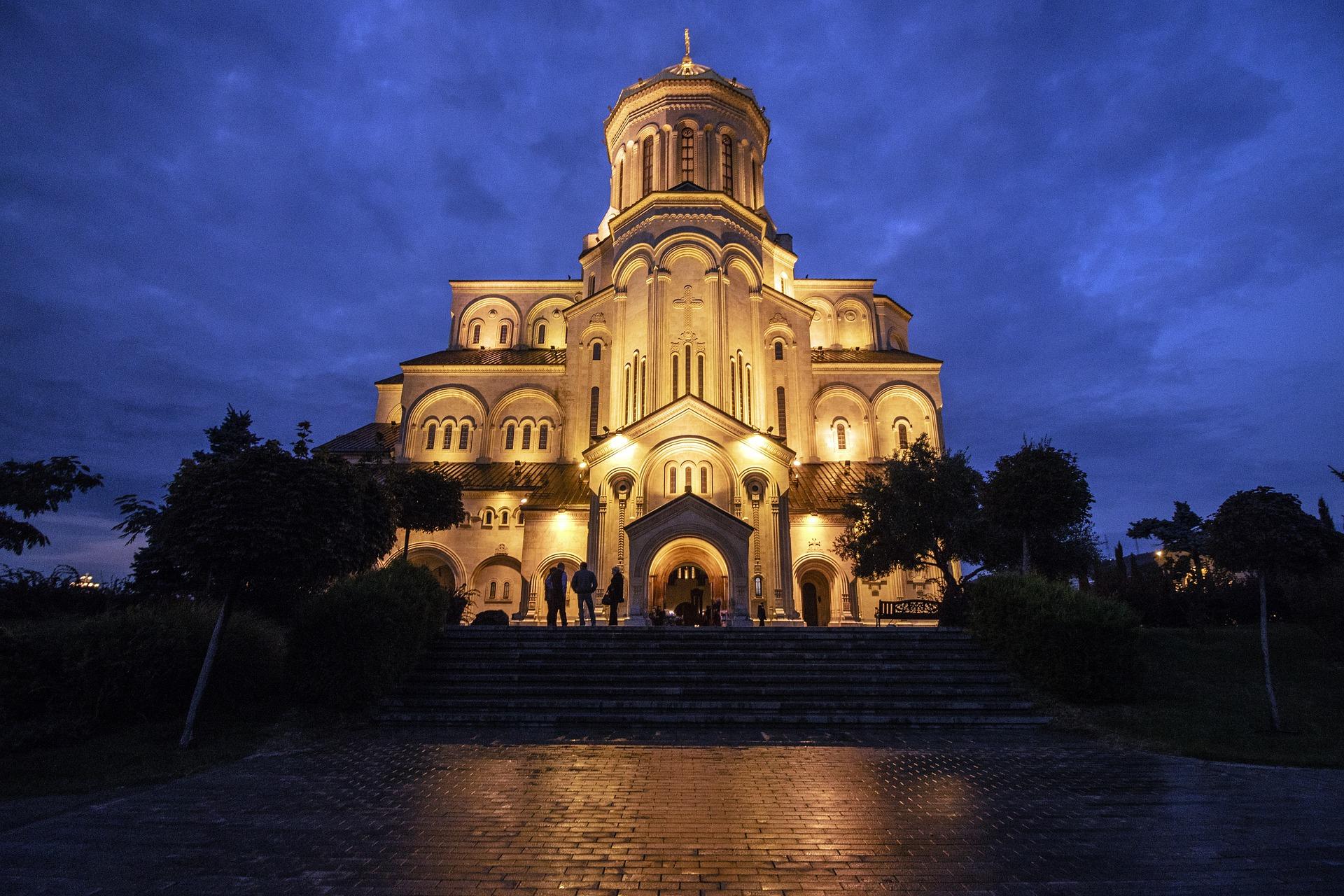 Georgien Tiflis Sameba-Kathedrale