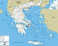 Griechenland Karten