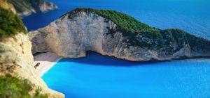 Griechenlands Küste
