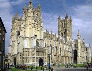 Großbritannien Canterbury Kathedrale