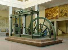 Grossbritannien - Dampfmaschine von James Watt