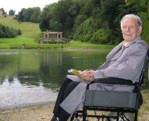 Harry Patch im Alter von 109 Jahren