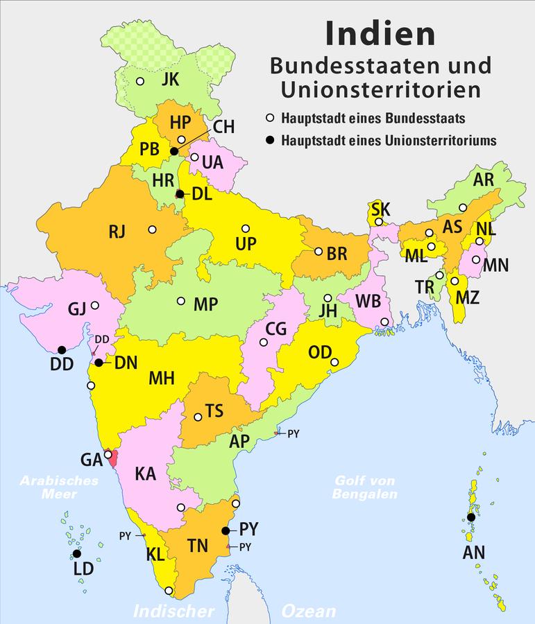 Bundesstaat Indien