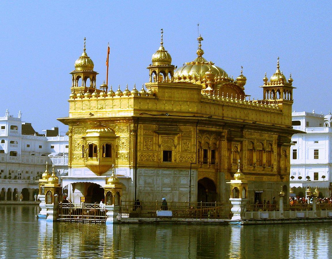 Indien Der Goldene Templel