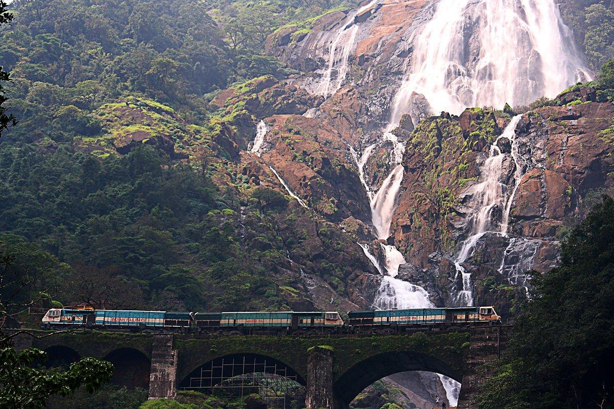 Indien Goa Dudhsagar Falls