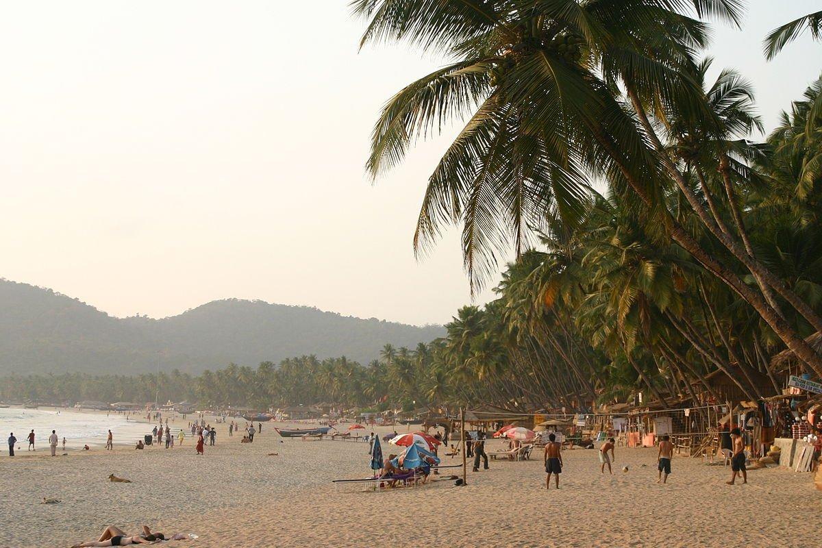 Indien Goa Palolem Beach