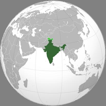 Indien Lage