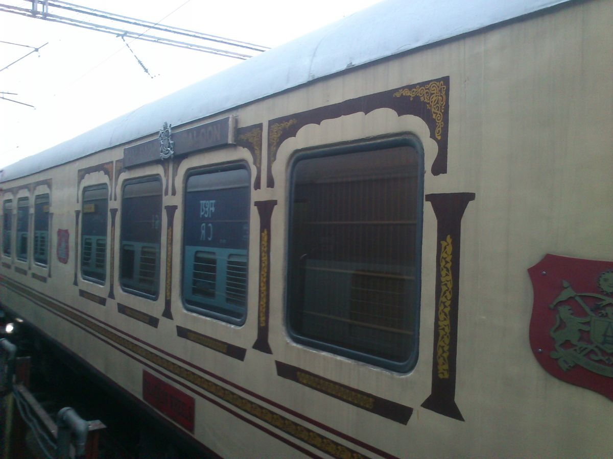 Indien Palast auf Raedern
