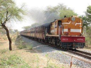 Indien Personenzug
