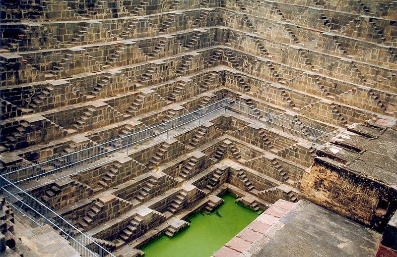 Indien Rajasthan Dausa Abhaneri Chand Baori