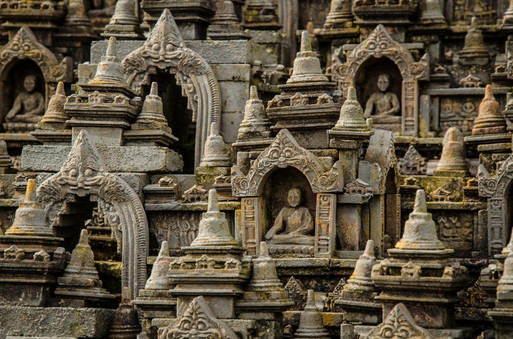 Indonesien - Borobudur - Tempelanlage