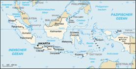 Indonesien Karten