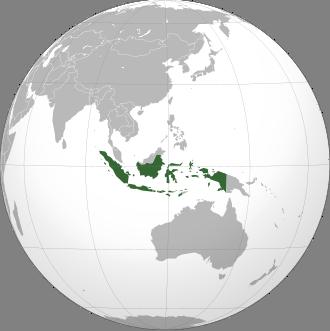 Indonesien Lage