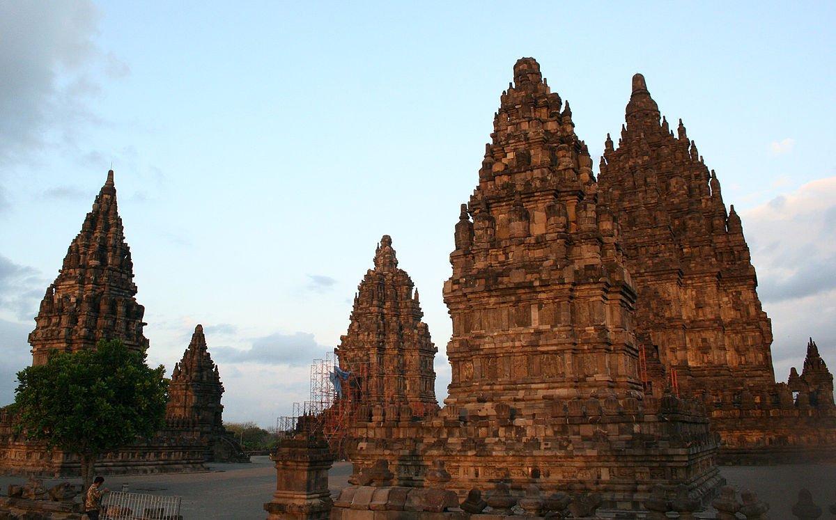 Indonesien Tempelanlage Prambanan