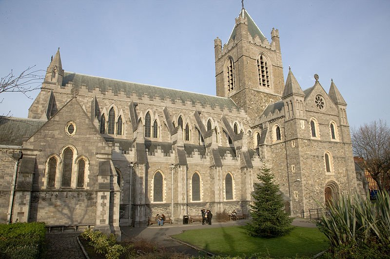 Irland Dublin Christchurch Kathedrale