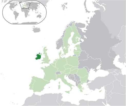 Irland Lage