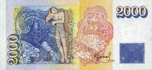 Island - 2000 Kronen - Rückseite