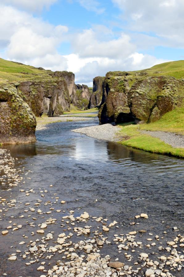 Island - Fjaðrárgljúfur Canyon