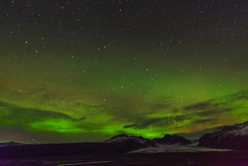 Island - Polarlicht