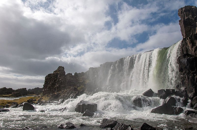 Thingvellir Nationalpark - Öxarárfoss