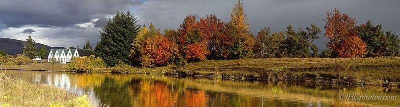 Thingvellir Nationalpark - Herbst