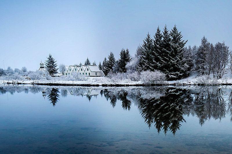 Thingvellir Nationalpark - Winter