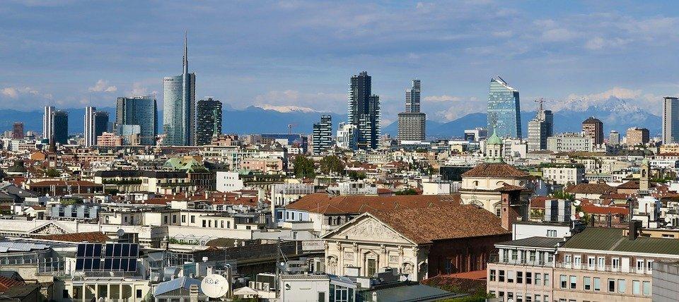 Mailand - Aussicht vom Dom
