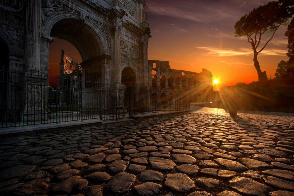 Italien - Rom - Konstantinsbogen