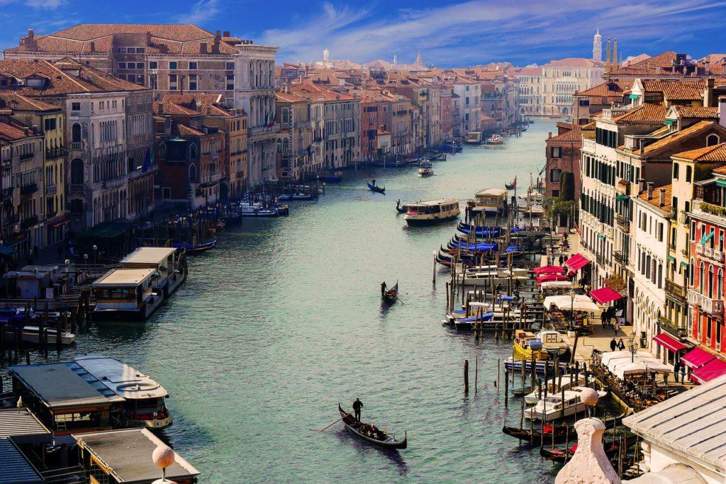 Italien - Venedig - Canale Grande