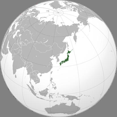 Japan Lage