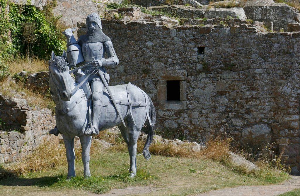 Jersay - Burg Orgueil